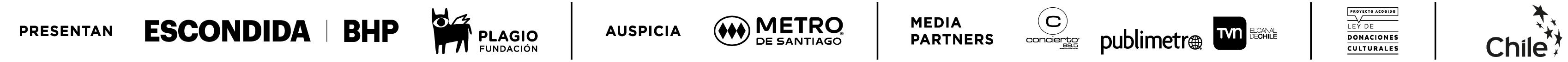 patrocinadores Santiago en 100 palabras