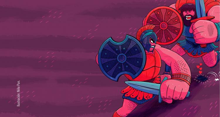 imagen La guerra de Troya